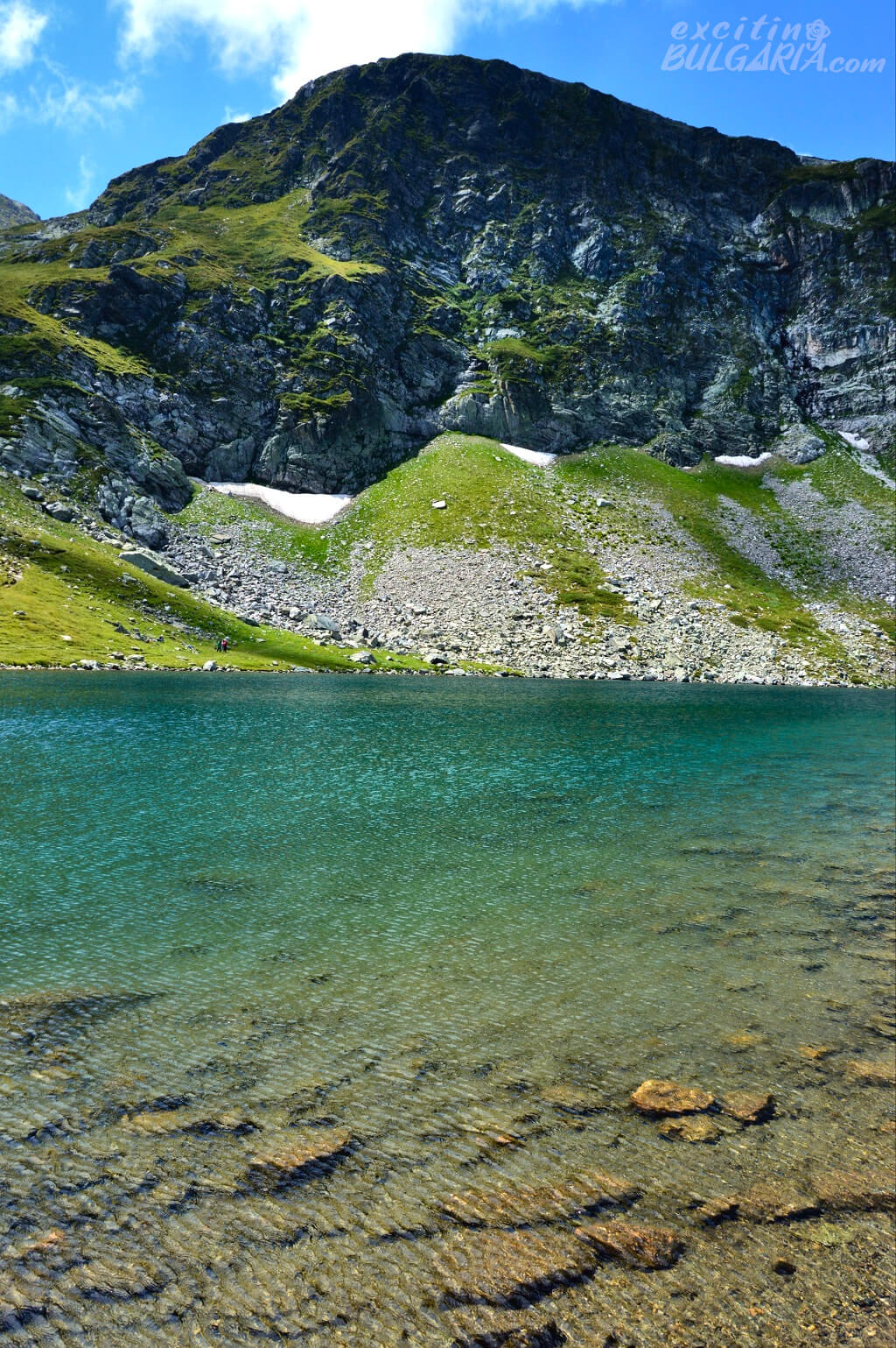 The Kidney lake in the Rila Mountains