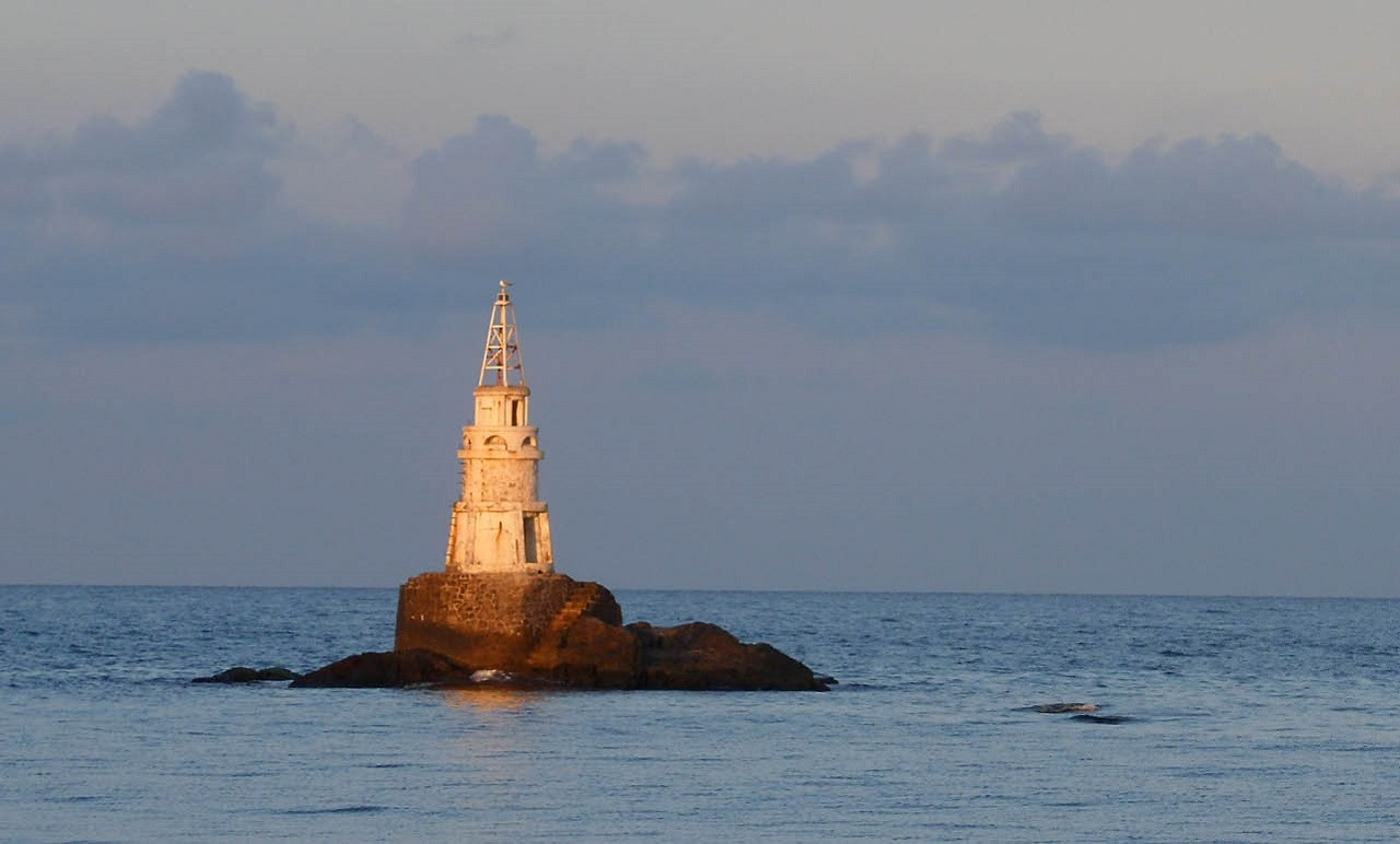 Ahtopol's symbol, the lighthouse