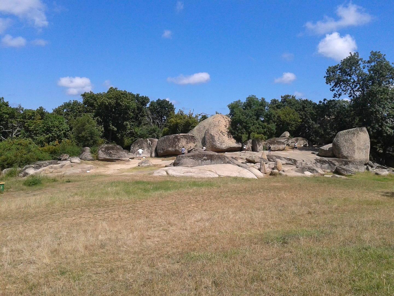 The boulders of Beglik Tash