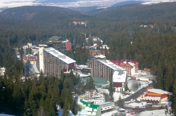 Borovets from above