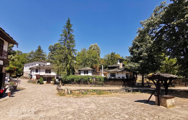 The center of Bozhentsi