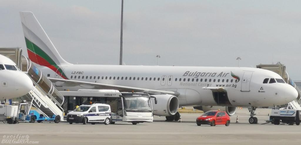 A plane of Bulgaria Air