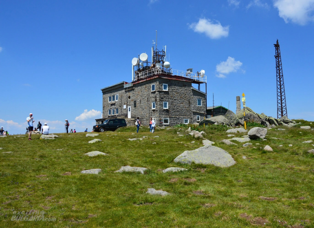 The building on the top of Cherni Vrah, Vitosha