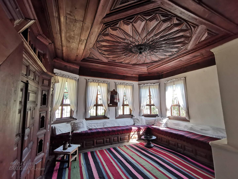Inside the Daskalov's house