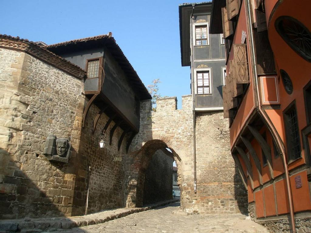 Hisar Kapia gate, plovdiv