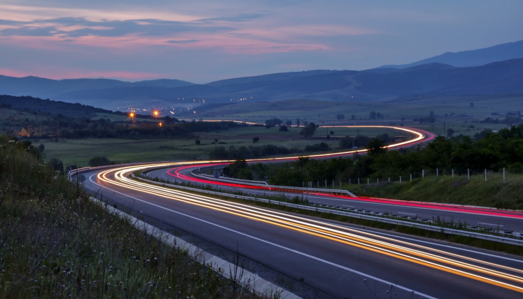 Motorway in Bulgaria