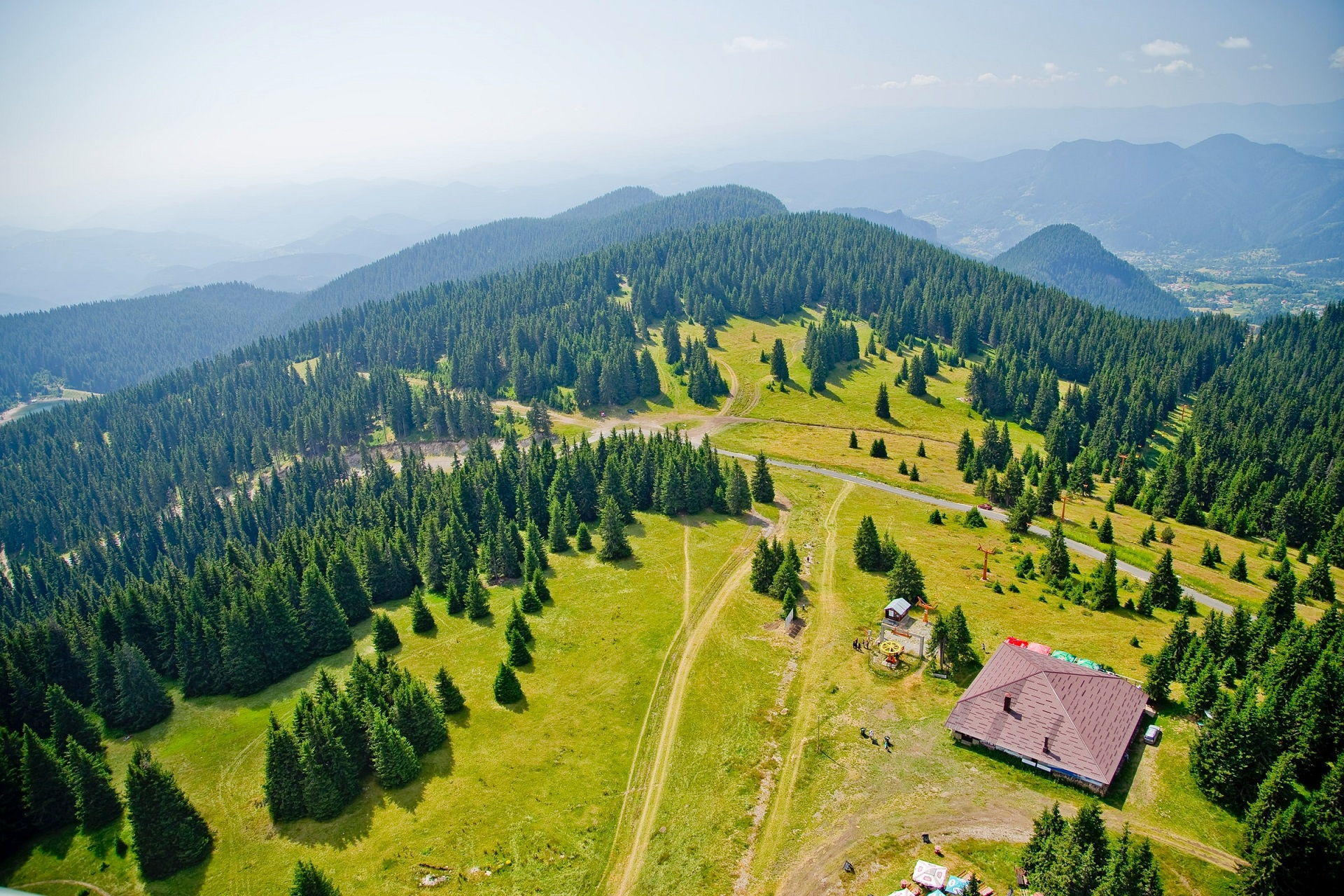 Pamporovo from above