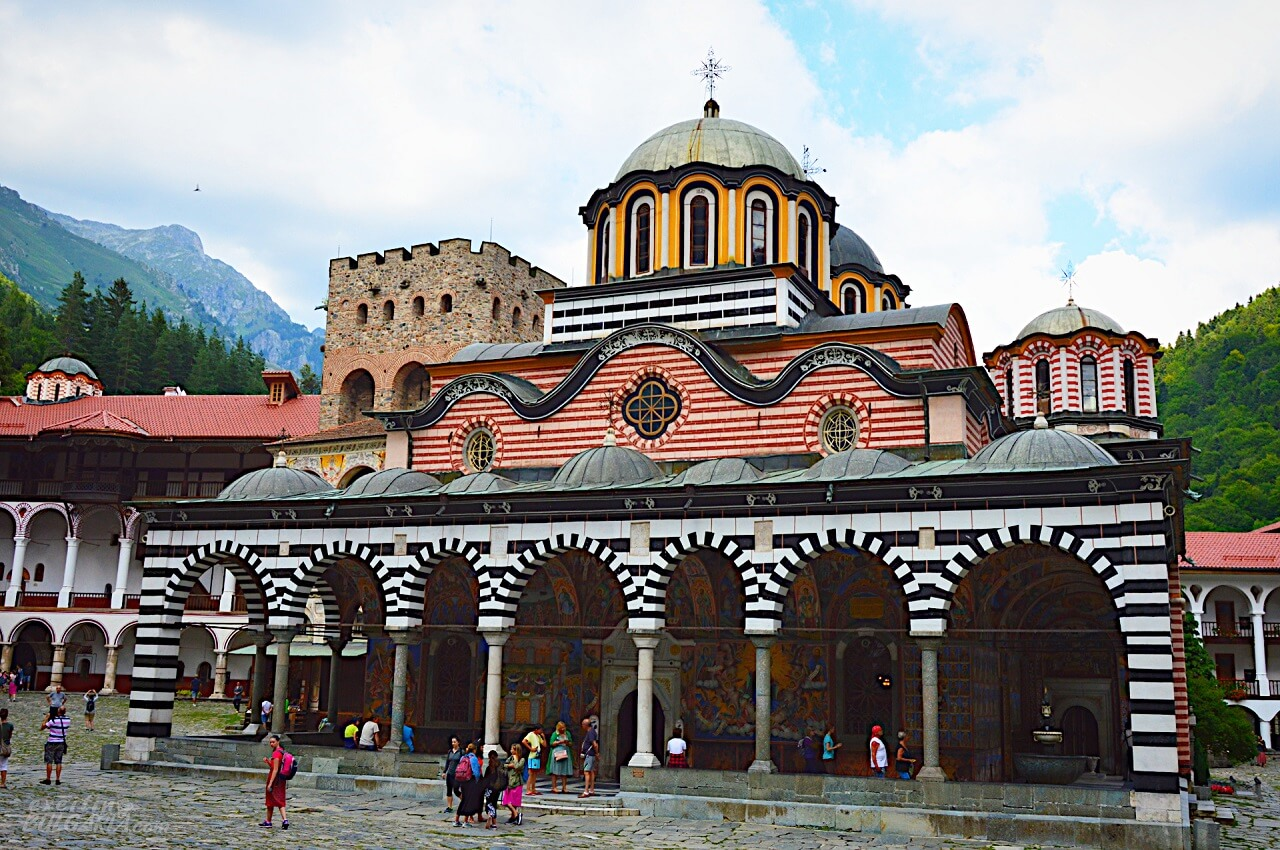 The main church of Rila monastery