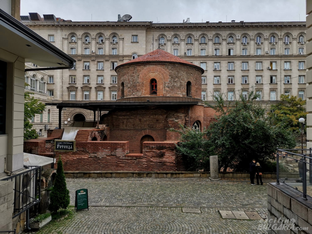 The Saint George Rotunda in Sofia