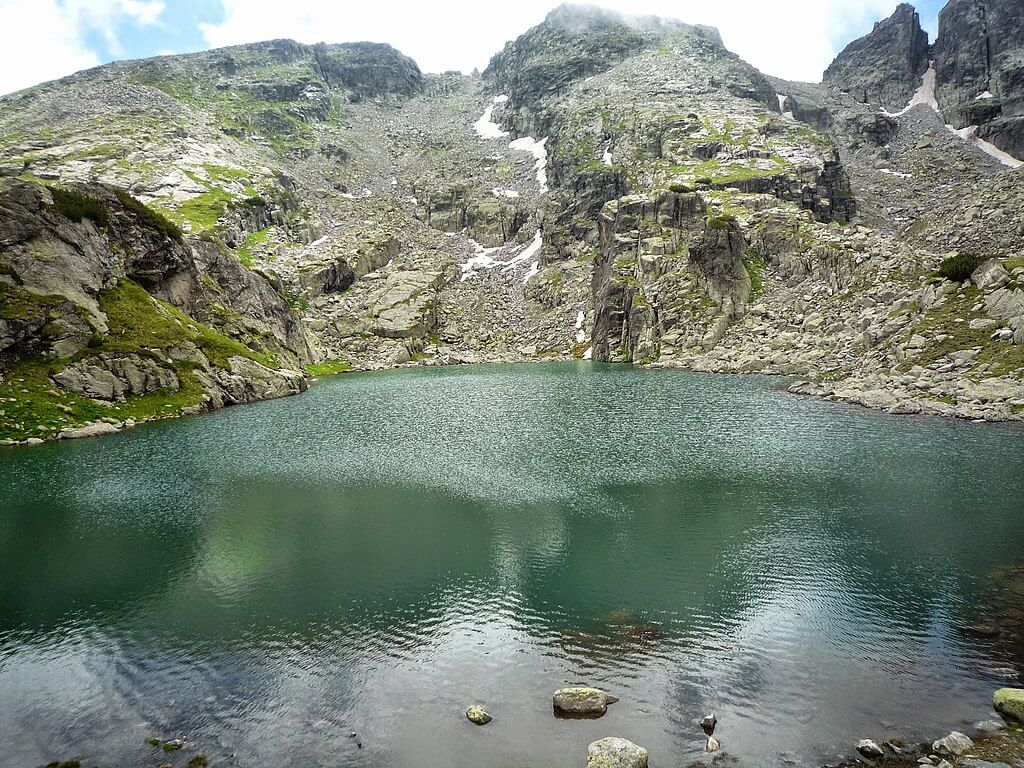 Scary Lake in the Rila Mountains