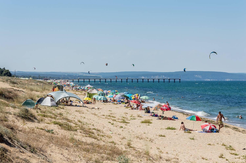 Shkorpilovtsi beach, Bulgaria