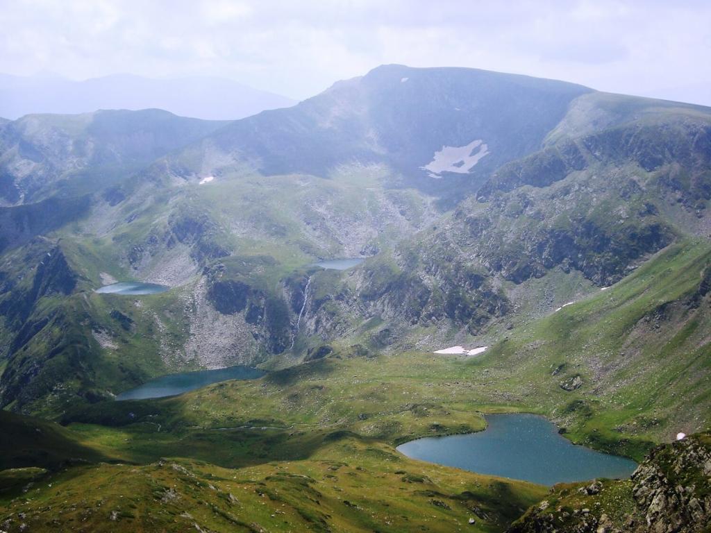 The Urdini Lakes in the Rila Mountains