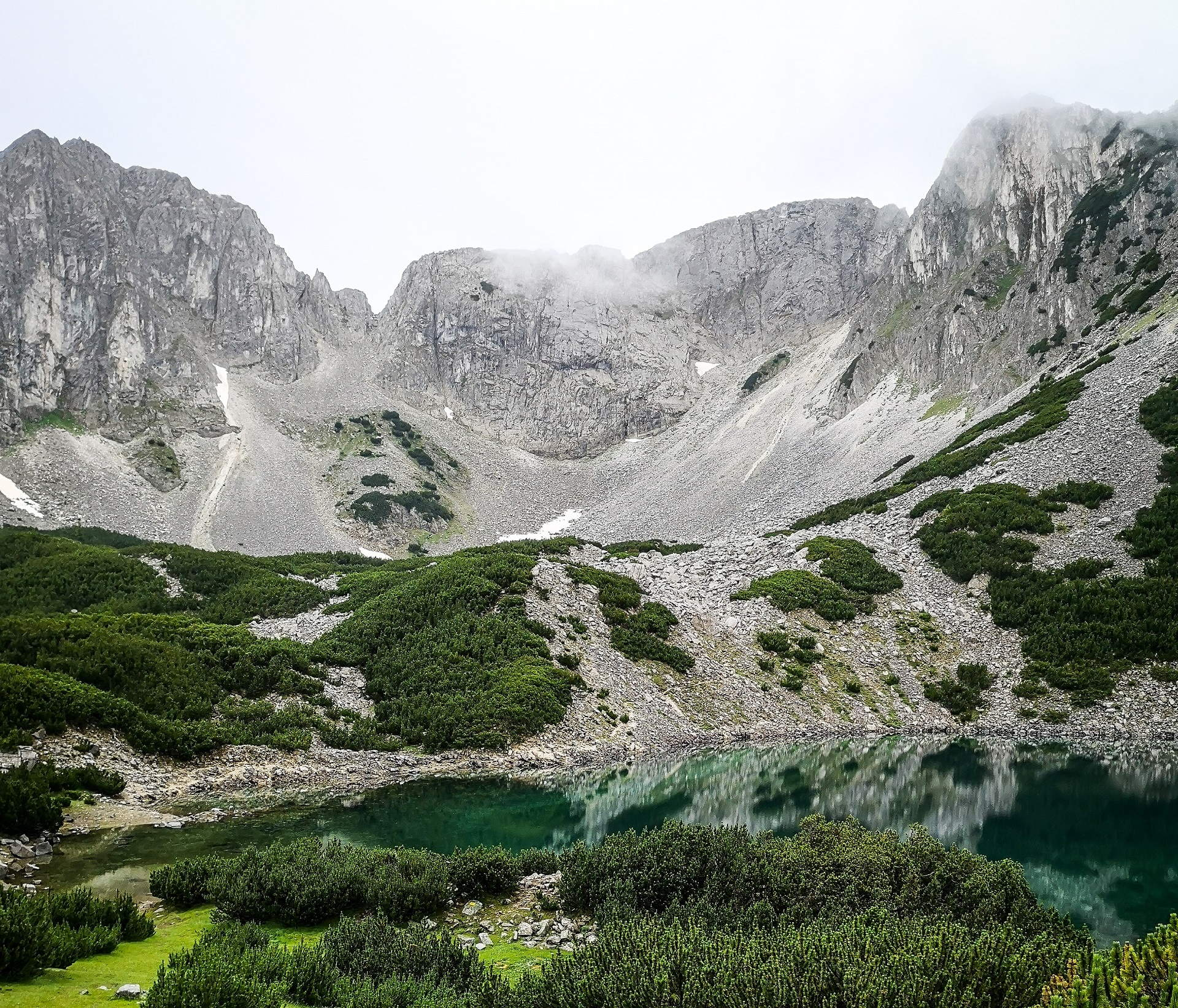 Lake in the Pirin Mountains