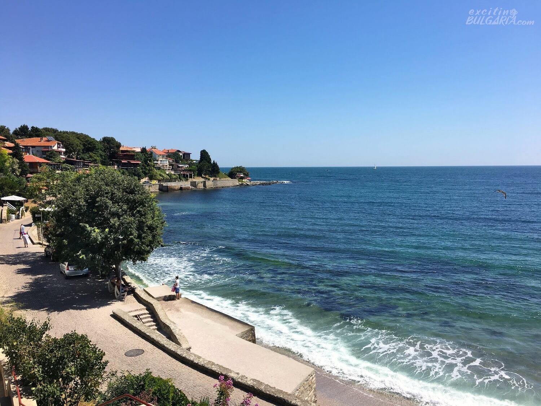 The Black Sea in Nesebar