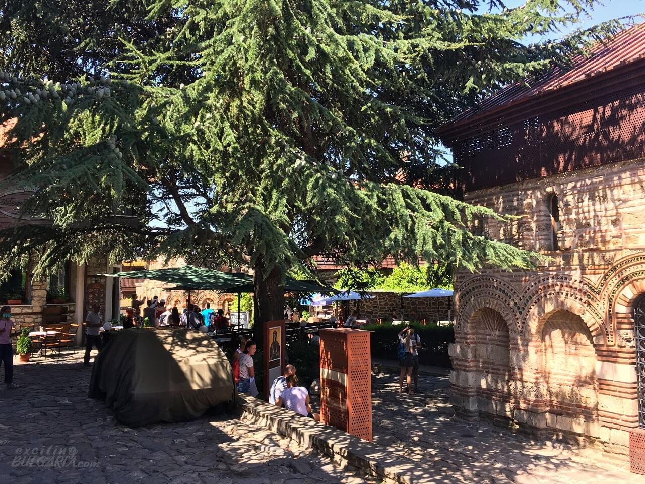 The old town of Nesebar